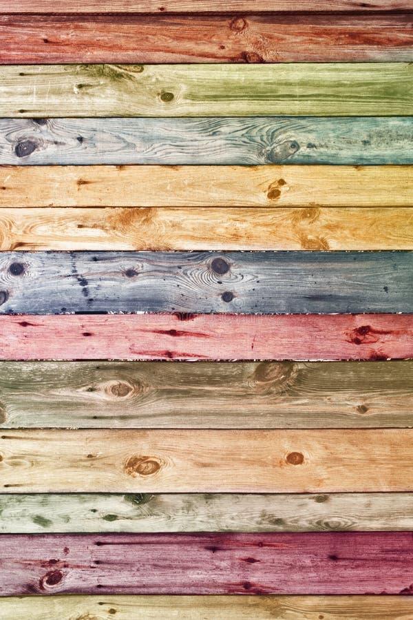 Uitstekende houten muur stock afbeelding