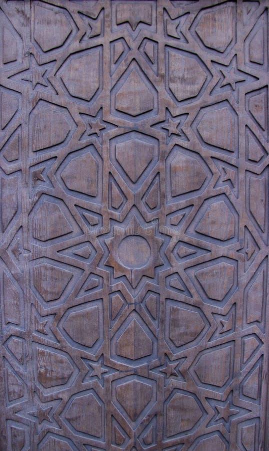 Uitstekende houten poort royalty-vrije stock foto's
