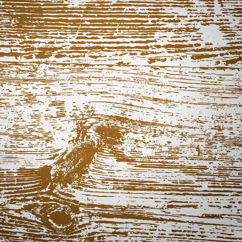 Uitstekende houten vector als achtergrond met ruimte voor uw tekst stock illustratie