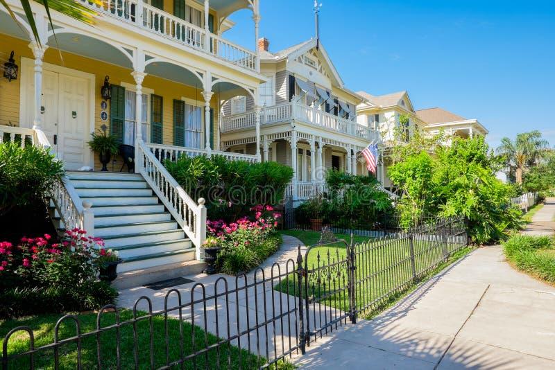 Uitstekende huizen stock fotografie