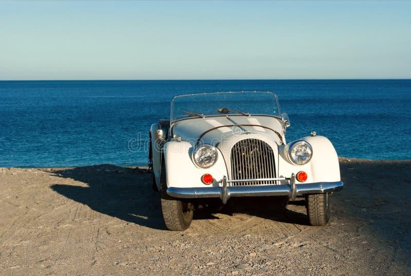Uitstekende Italiaanse auto stock afbeelding