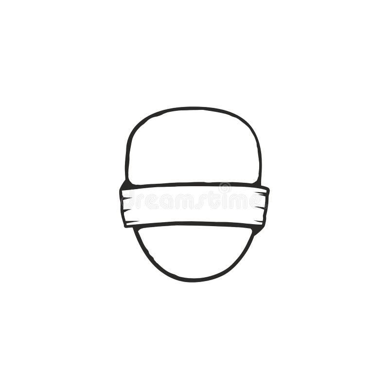 Uitstekende kader, vorm en vorm voor embleem, etiket, insignes Gebruik voor reis, het kamperen of andere emblemen Voorraad logoty royalty-vrije illustratie