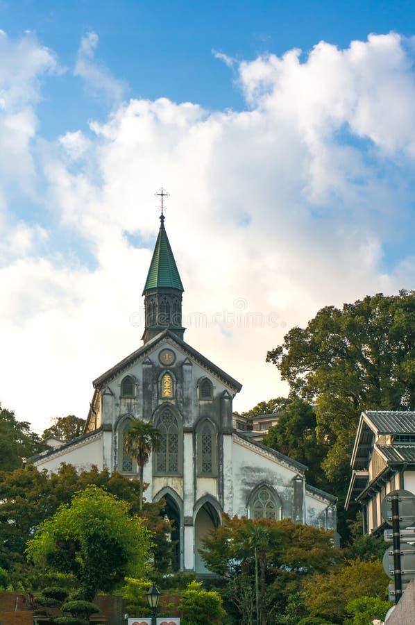 Uitstekende kerk royalty-vrije stock afbeelding