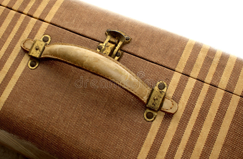 Uitstekende koffer royalty-vrije stock fotografie