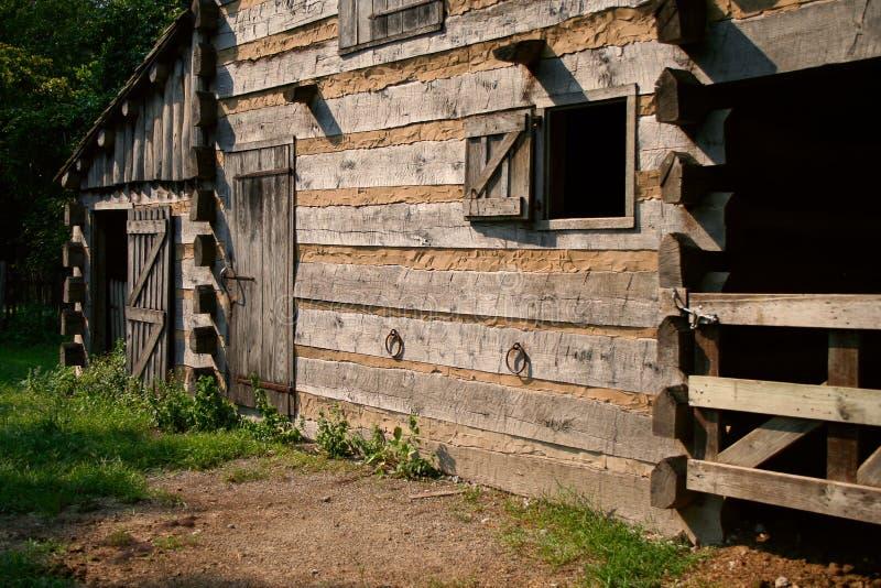 Uitstekende landbouwbedrijf of boerderij stock fotografie