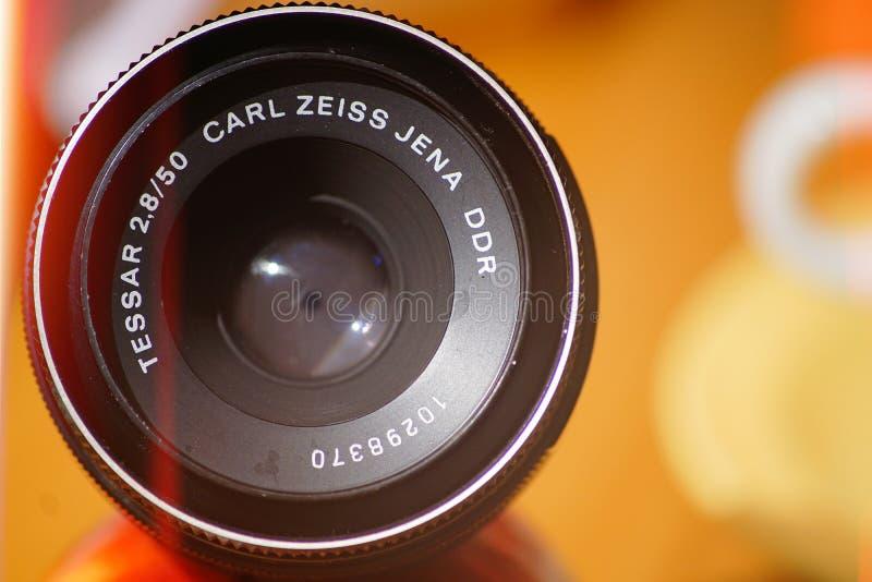 Uitstekende Lens royalty-vrije stock afbeelding