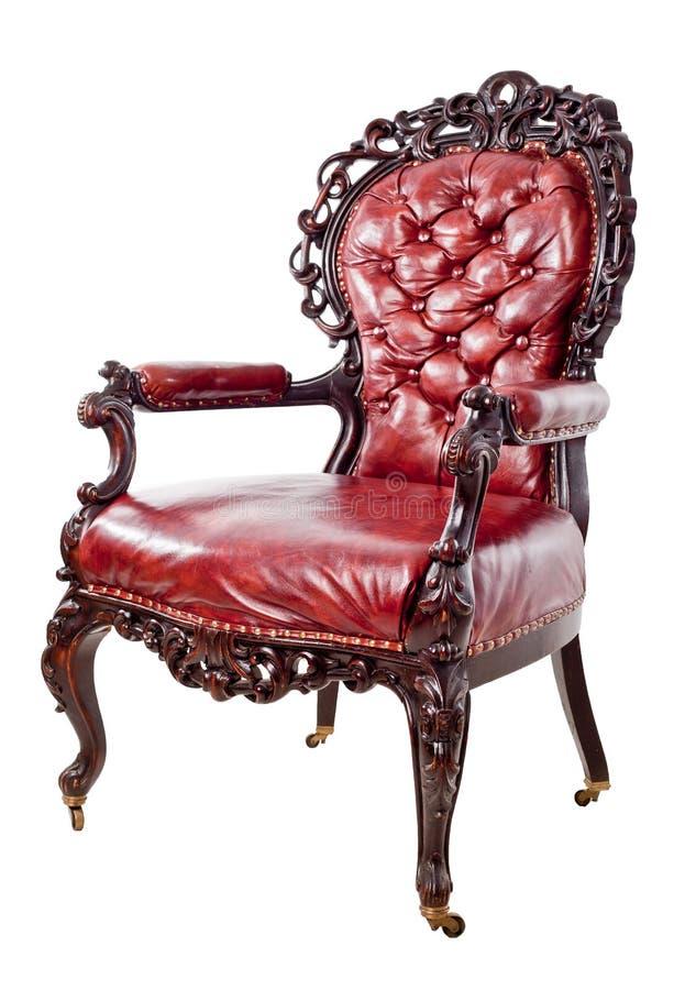 Uitstekende leunstoel royalty-vrije stock afbeelding
