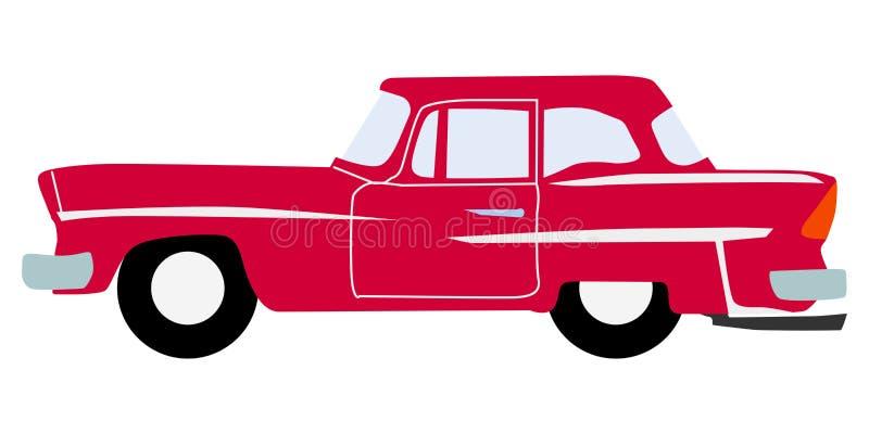 Uitstekende luxeauto stock illustratie