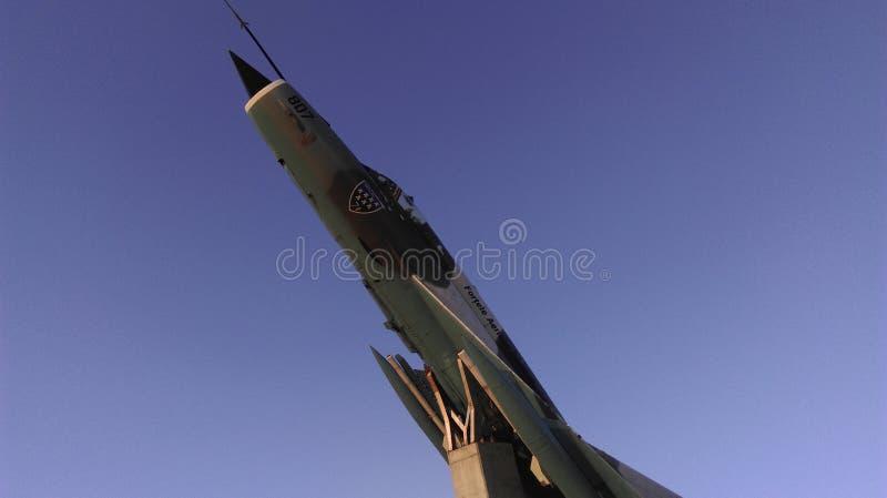 Uitstekende militaire straal royalty-vrije stock afbeelding