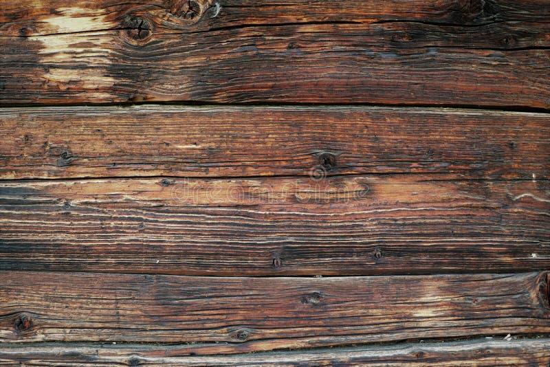 Uitstekende mooie bruine houten oppervlakte met ogen royalty-vrije stock foto