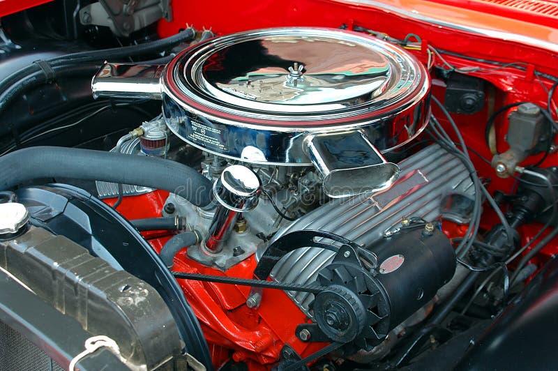Uitstekende Motor van een auto royalty-vrije stock afbeelding