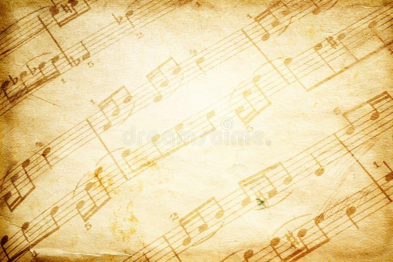 Uitstekende muziek stock afbeeldingen