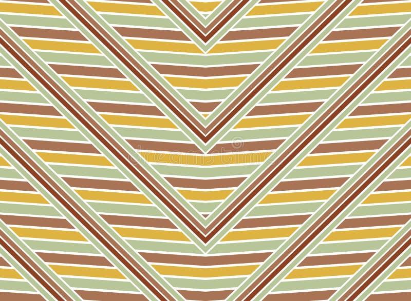 Uitstekende naadloze zigzagslagen vector illustratie