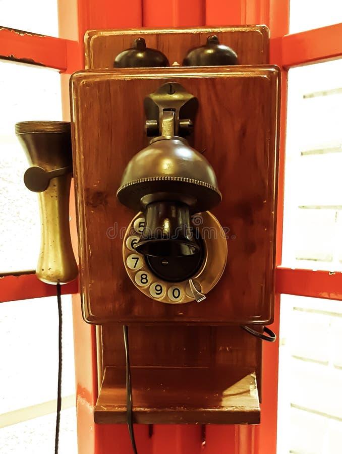 Uitstekende openbare telefoon stock foto's