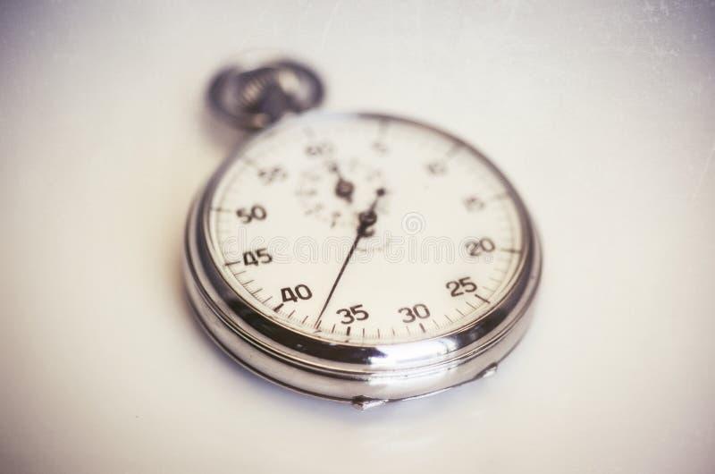 Uitstekende oude chronometer stock afbeeldingen