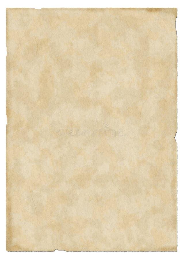 Uitstekende oude document textuur royalty-vrije illustratie