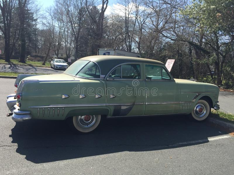 1953 Uitstekende Packard-Auto royalty-vrije stock afbeelding