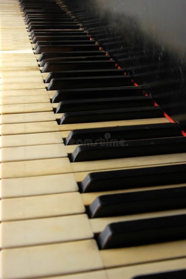 Uitstekende piano stock afbeeldingen