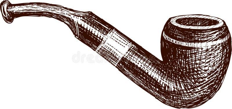 Uitstekende pijp vector illustratie