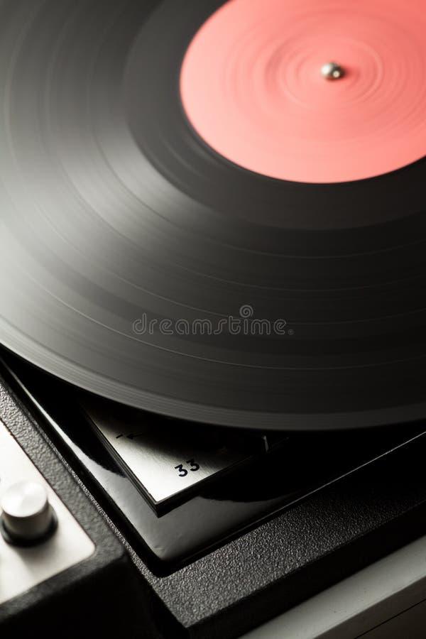 Vinyl draaischijf stock foto's