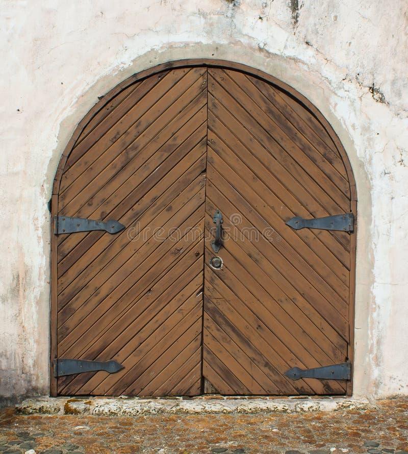 Uitstekende poort. royalty-vrije stock foto's