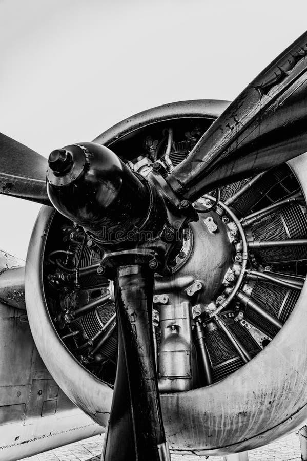 Uitstekende Propeller royalty-vrije stock fotografie