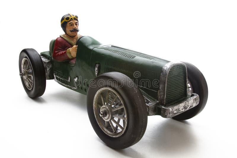 Uitstekende raceauto stock afbeeldingen
