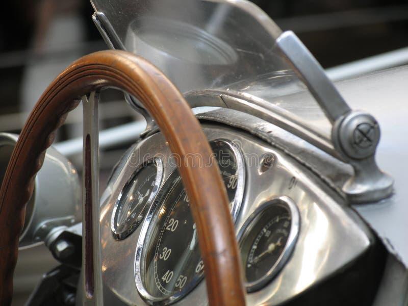 Uitstekende raceauto royalty-vrije stock afbeeldingen