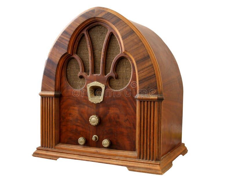 Uitstekende Radio_Angle View.jpg stock afbeelding