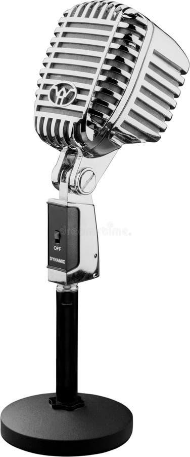 Uitstekende radiomicrofoon stock afbeelding