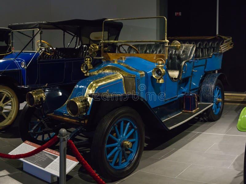 Uitstekende Retro DM van Autorenault type bij het Museum stock fotografie