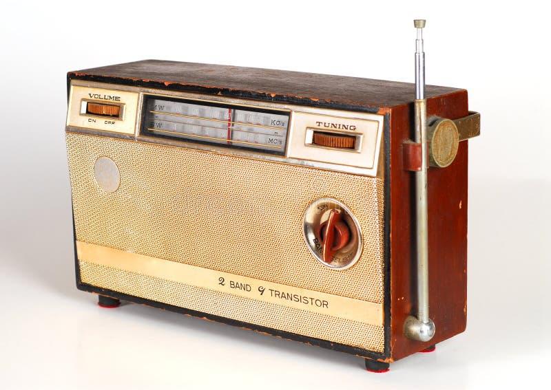 Uitstekende Retro Radio royalty-vrije stock afbeelding