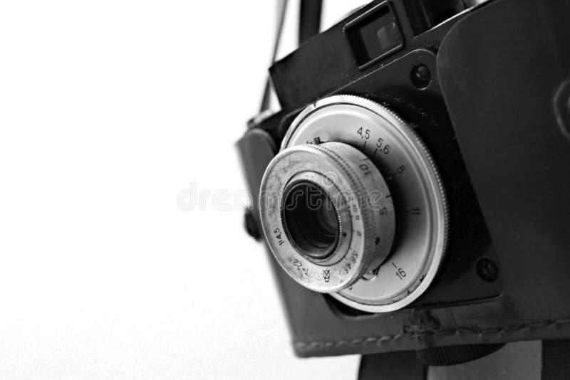 Uitstekende Russische Camera royalty-vrije stock afbeelding