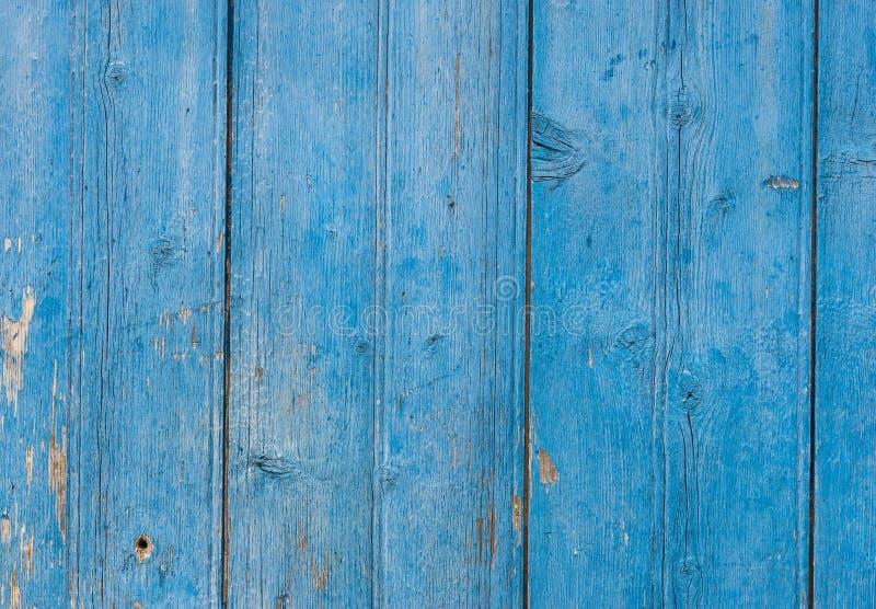 Uitstekende rustieke houten textuur in kleurenblauw royalty-vrije stock afbeeldingen