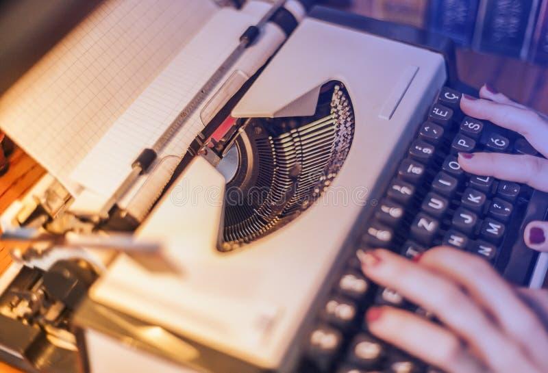 Uitstekende Schrijfmachine royalty-vrije stock fotografie