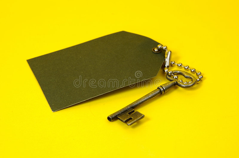 Uitstekende Sleutel royalty-vrije stock fotografie
