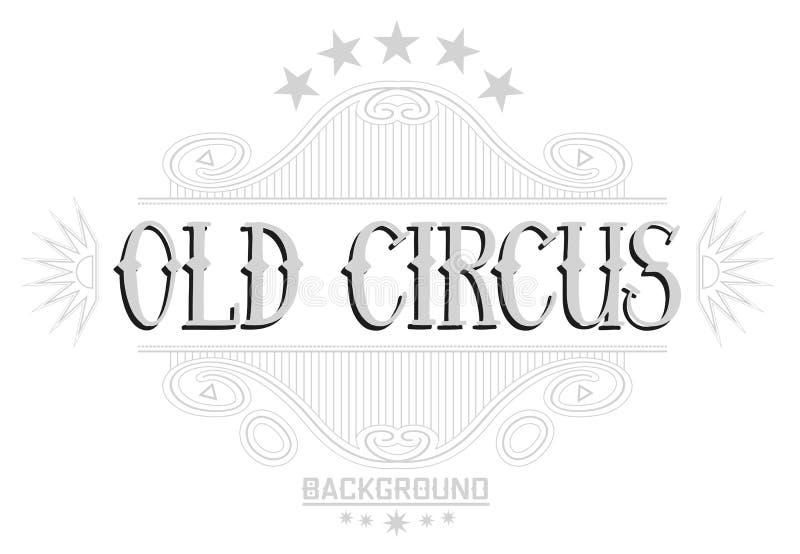 Uitstekende stijl gevoelige grijze achtergrond Retro kader met antieke elementen Vectorlay-out Eenvoudig editable geïsoleerde ele royalty-vrije illustratie