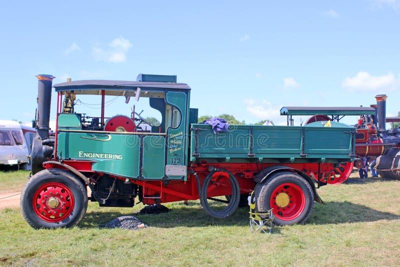 Uitstekende stoomvrachtwagen royalty-vrije stock fotografie