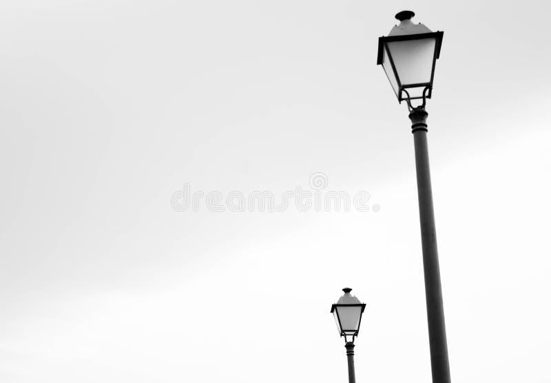 Uitstekende straatlantaarns stock fotografie