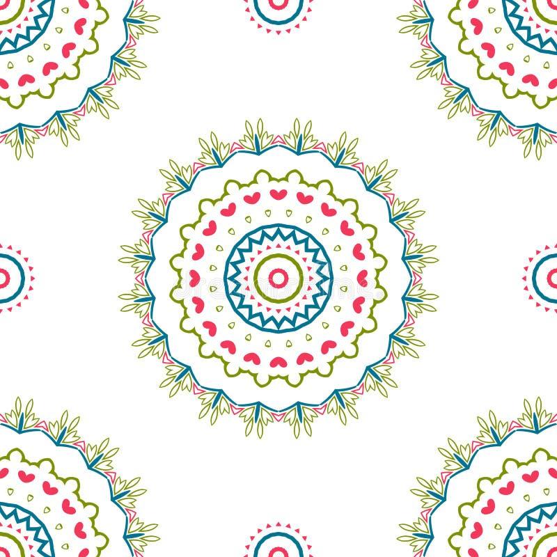 Uitstekende universele verschillende naadloze oostelijke patronen (het betegelen) vector illustratie