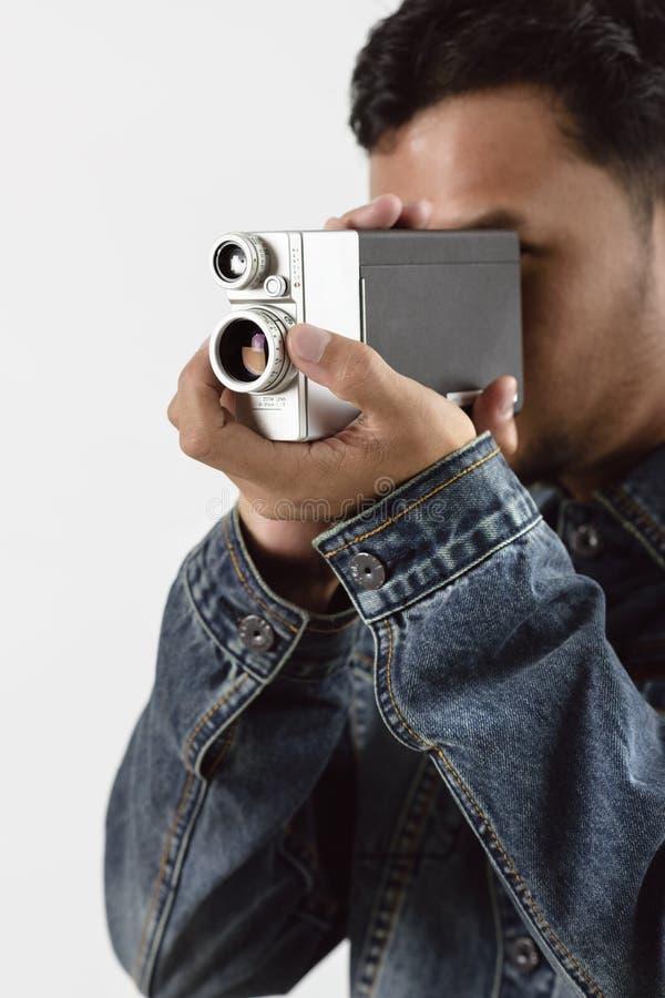 Uitstekende VDO-Camera stock afbeelding