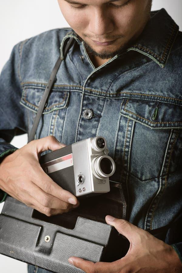 Uitstekende VDO-Camera stock afbeeldingen
