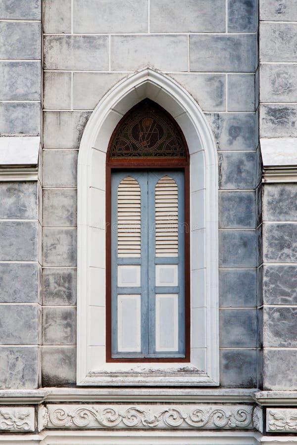 Uitstekende vensters royalty-vrije stock fotografie