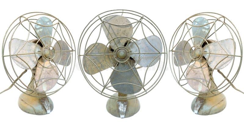 Uitstekende Ventilators royalty-vrije stock foto