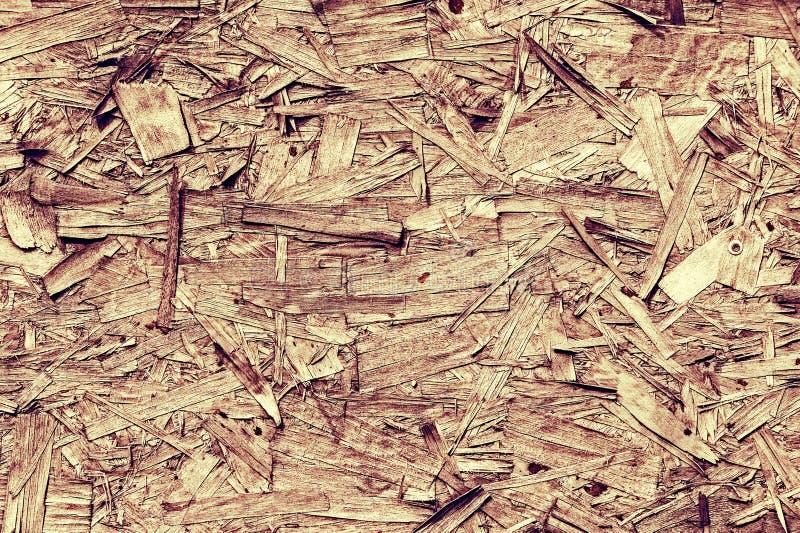 Uitstekende verwerking Textuur, achtergrond houtvezelplaat stijve raad royalty-vrije stock afbeeldingen