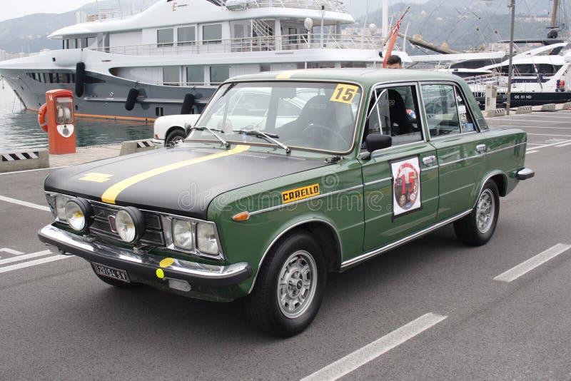 Uitstekende verzameling Fiat 125 royalty-vrije stock afbeelding