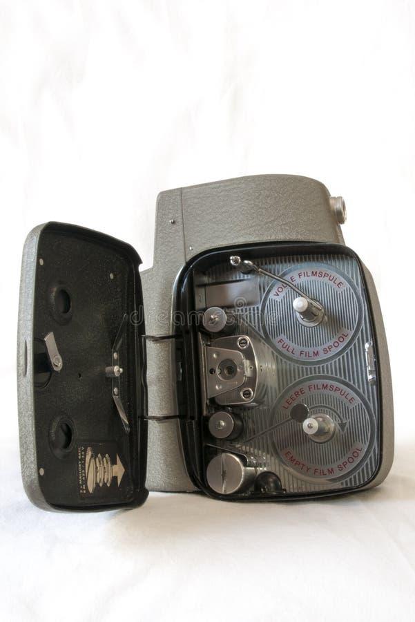 Uitstekende Videocamera royalty-vrije stock afbeeldingen