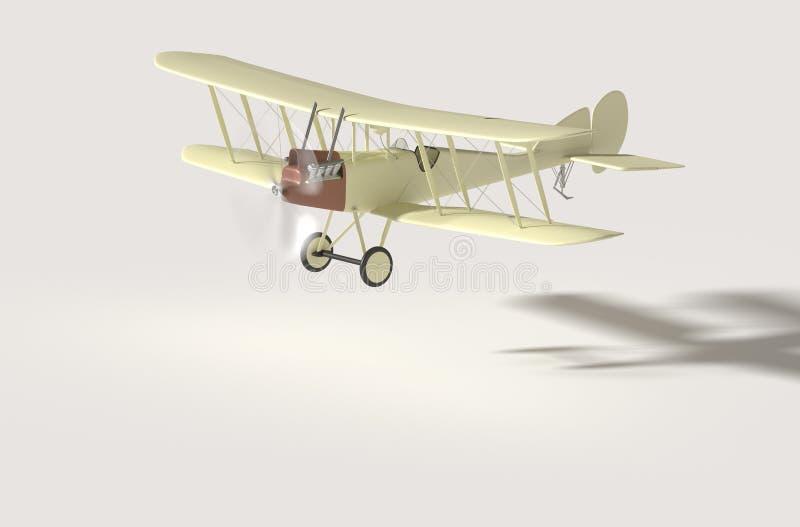Uitstekende vliegtuigenmodellen royalty-vrije stock afbeeldingen