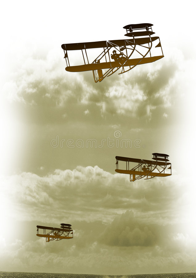 Uitstekende vlucht vector illustratie