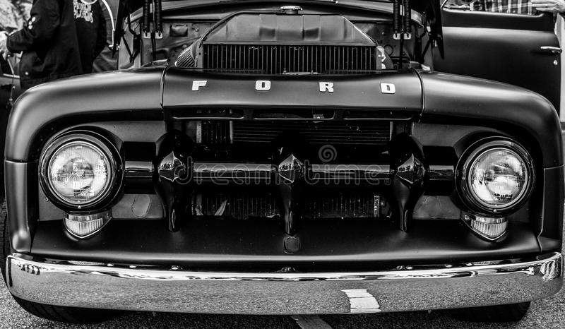 Uitstekende Vrachtwagen Front End royalty-vrije stock foto